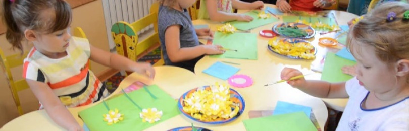 Тема «Весна» на занятиях по рисованию в младших группах ДОУ