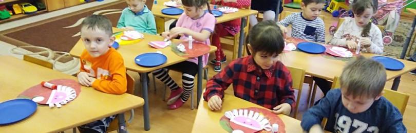 Занятия по познавательному развитию в средней группе ДОУ
