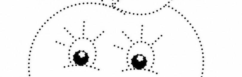 Занятия рисованием по точкам для дошкольников в детском саду