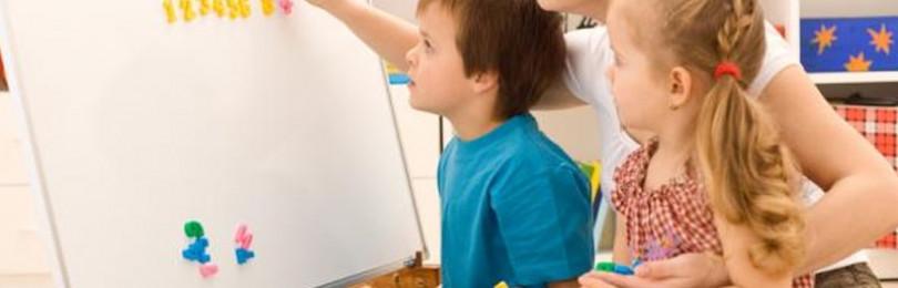 Математические занятия в детских садах для развития малышей