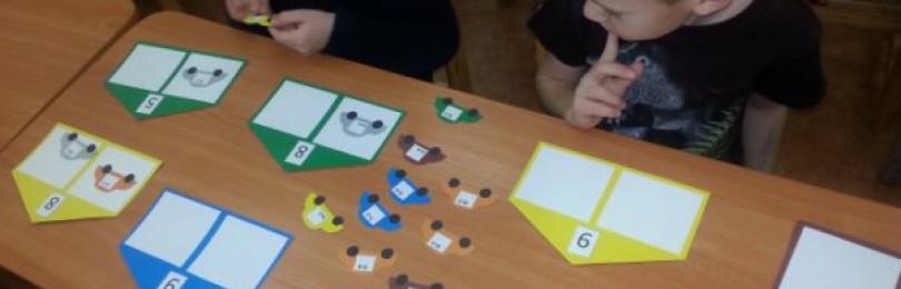 Дидактические игры математического содержания (ФЭМП) в старших группах