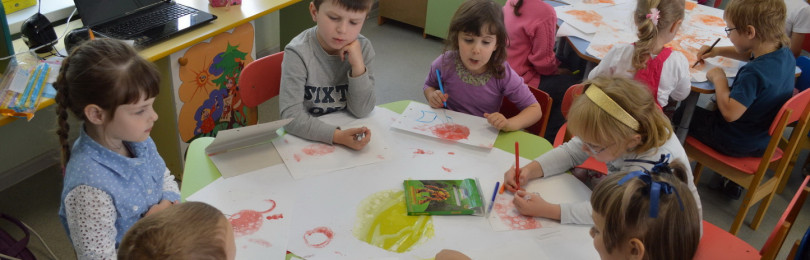 Рисование на тему «Деревья в инее» для старших и подготовительных групп