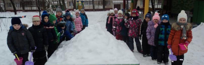 Планирование прогулки в подготовительной группе зимой