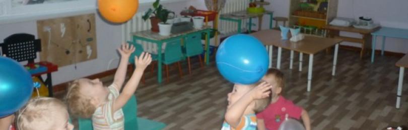 Подвижные игры для младших групп детского сада