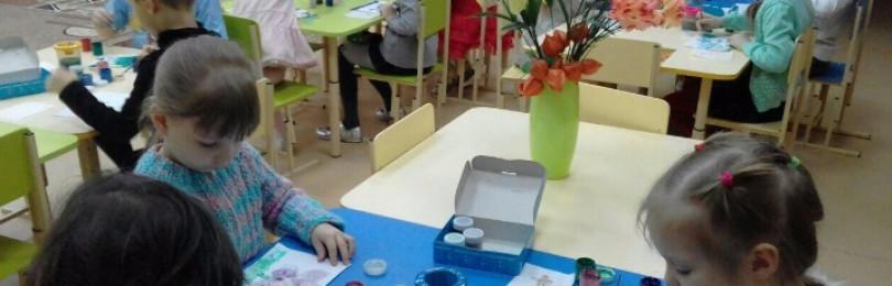 Урок рисования на тему «Профессии» для средних групп ДОУ