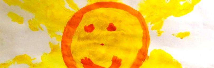 Уроки рисования во второй младшей группе на тему «Светит солнышко»