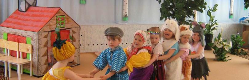Занятия театрализованной деятельностью во 2-х младших группах ДОУ