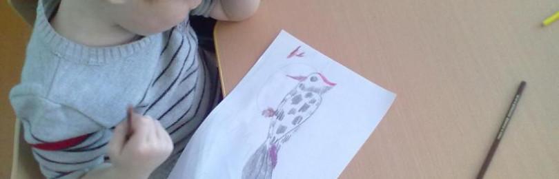 Занятие по рисованию на тему «Красивая птичка» в средних группах