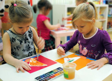 Обучение детей 3-4 лет рисованию пошагово