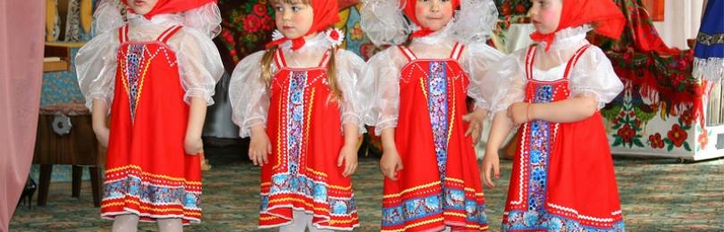 """Народный танец """"Калинка-Малинка"""" танцуют дети"""