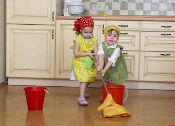 Трудовое воспитание детей в семье