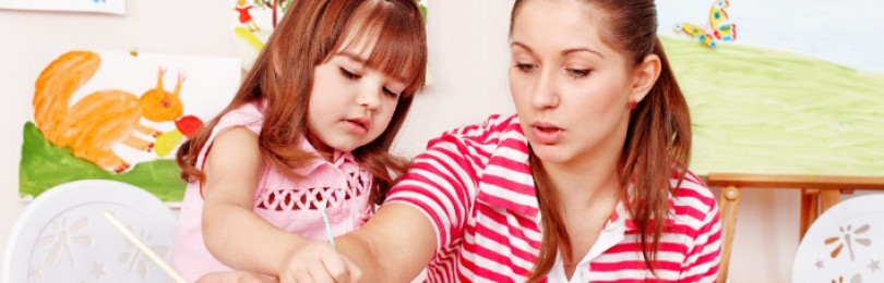 Пошаговая методика рисования портрета мамы для детей