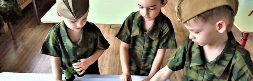 Тема для рисования «День защитника отечества» в средних группах ДОУ