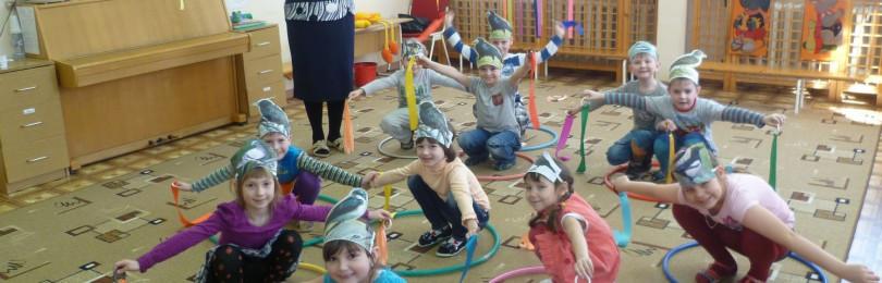 Подвижные игры для детей старшей группы в ДОУ
