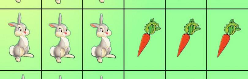 Обучение математике в детских садах с помощью счетного материала
