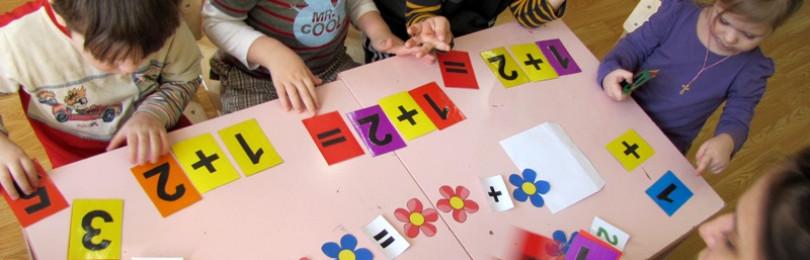 Занятия с методическим пособием Колесниковой по математике для 3-4 лет
