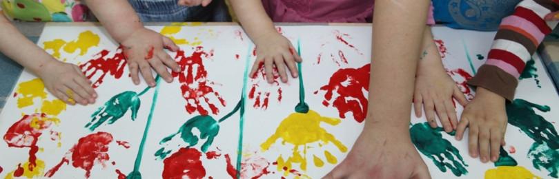 Техника нетрадиционного рисования для средней группы детского сада