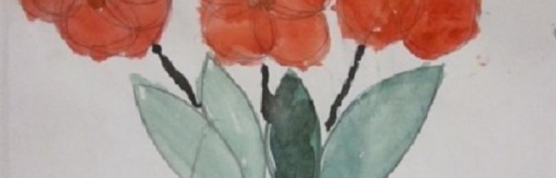 НОД по рисованию на тему «Ваза с цветами» в подготовительных группах