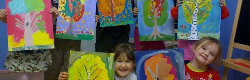 Уроки традиционного и нетрадиционного рисования в детском саду
