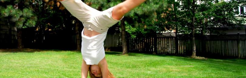 Как научить ребенка делать «колесо» дома за 5 минут