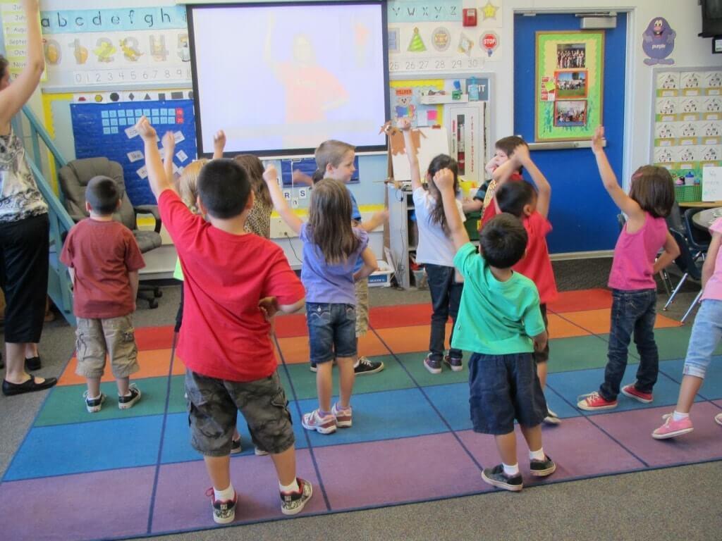 Урок музыки у дошкольников