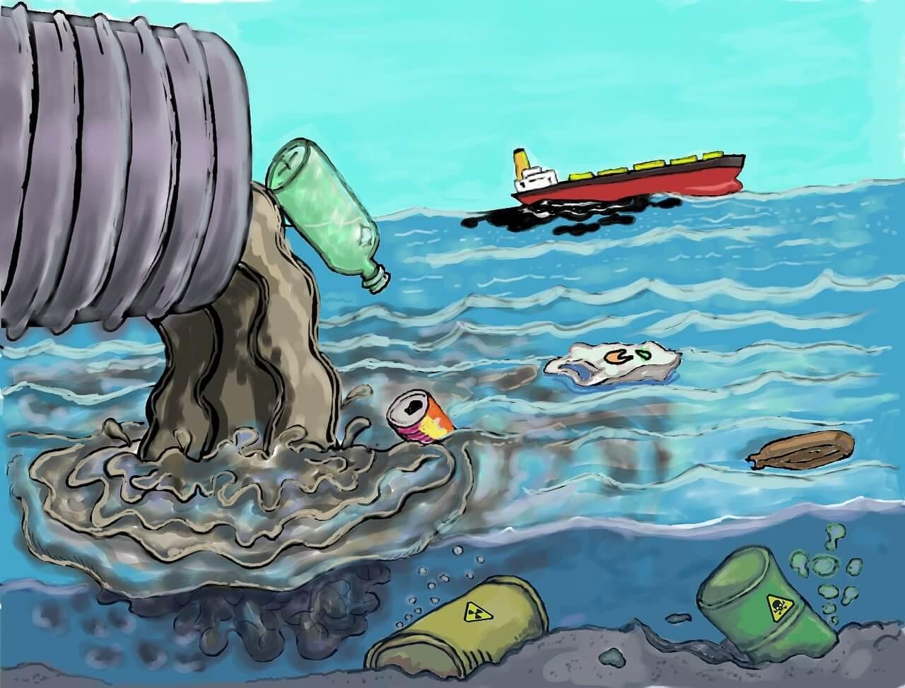 """Рисунок """"Загрязнение окружающей среды"""""""
