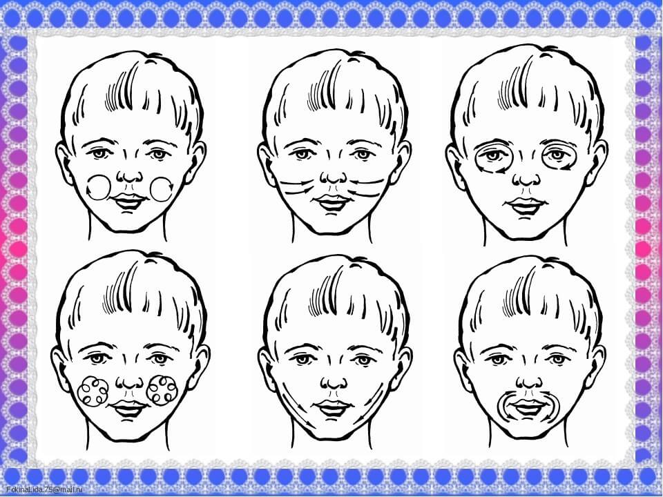 Массаж лицевых мышц
