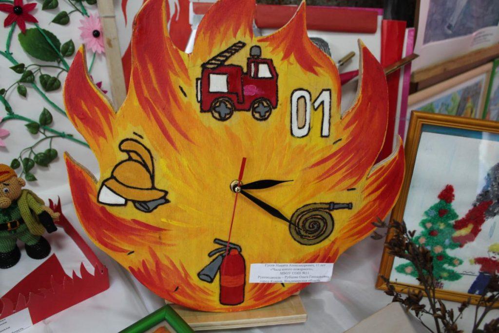 Плакат «Борьба с возгоранием»