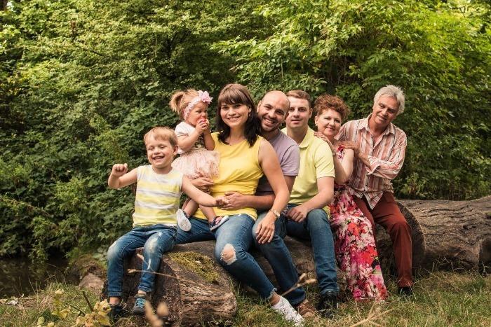 9 Дружная семья