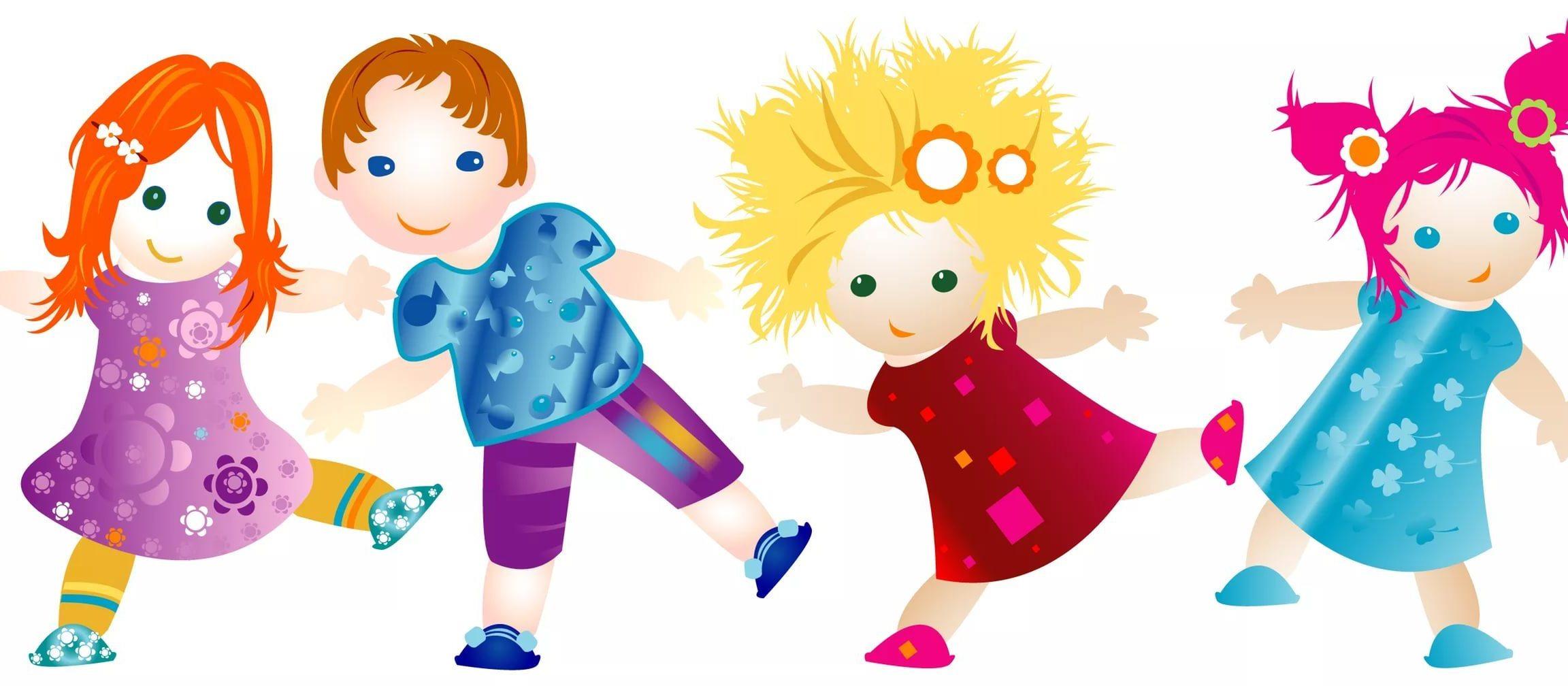 Танцы в картинках для детей