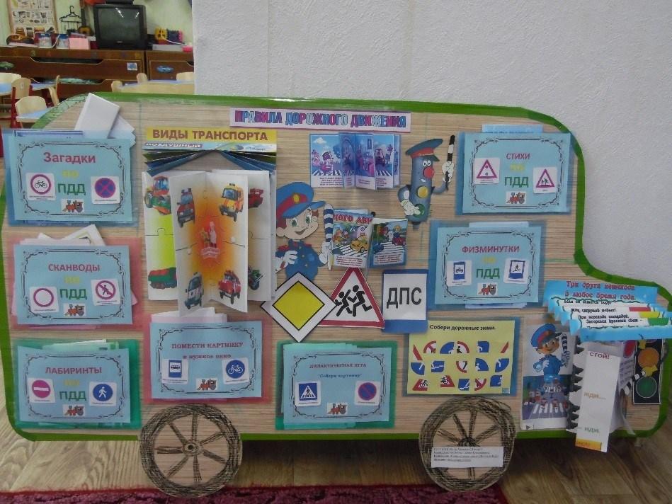 Лэпбук по ПДД своими руками для детского сада