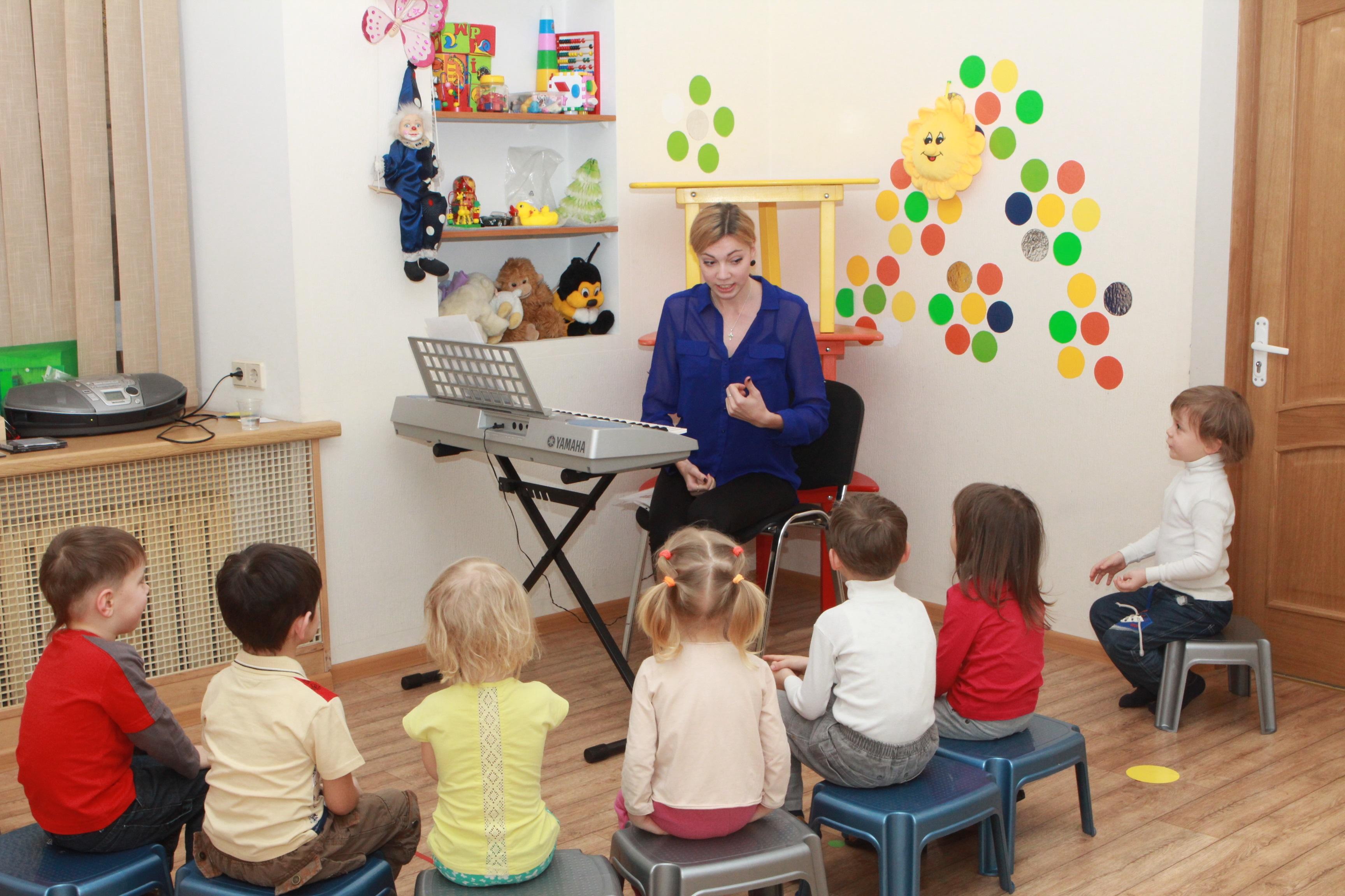 Развитие речи в средней группе на музыкальных занятиях