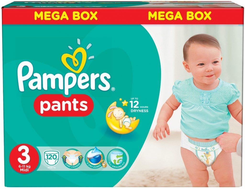 Подгузники-трусики Pampers